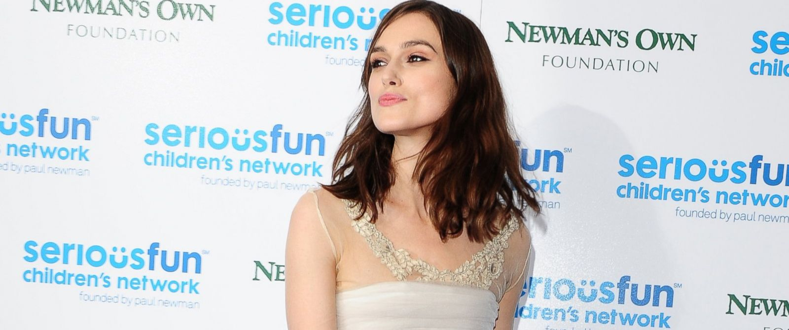 PHOTO: Keira Knightley attends the SeriousFun Childrens Network London Gala, Dec. 3, 2013, in London.