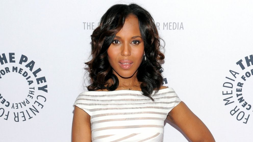 "PHOTO: Actress Kerry Washington attends the ""Shes Making Media: Kerry Washington"" panel discussion about her career at The Paley Center for Media on Wednesday, Oct. 2, 2013 in New York."
