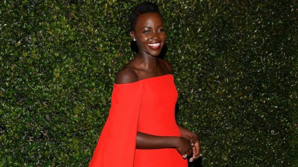 PHOTO: Lupita Nyongo at a Golden Globes party, Jan. 12, 2014, in Beverly Hills, Calif.