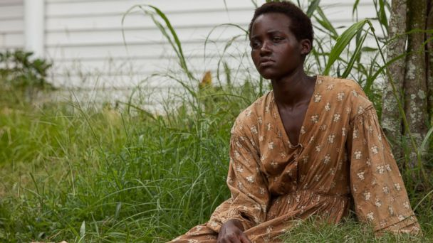 "PHOTO: Lupita Nyongo in a scene from ""12 Years A Slave."""