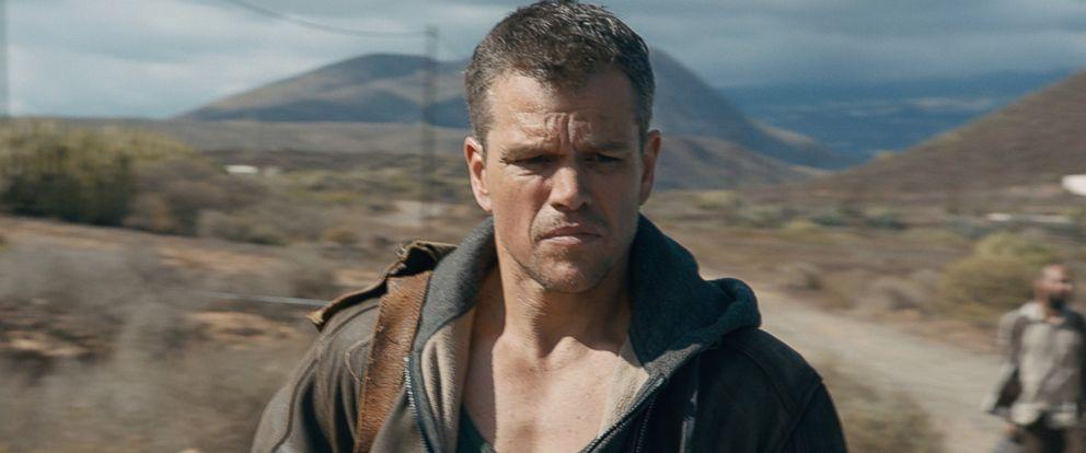"""PHOTO: Matt Damon appears in a scene from """"Jason Bourne."""""""