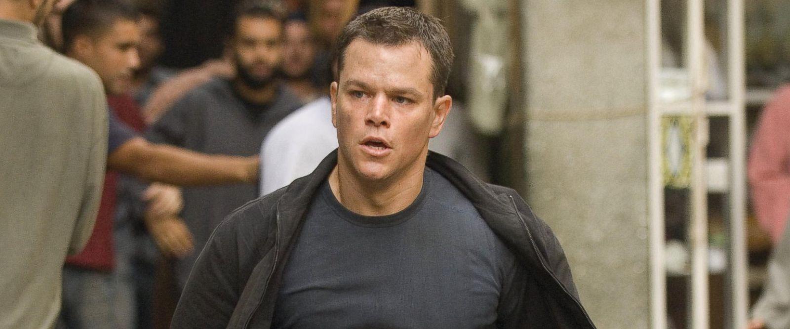 "PHOTO: Matt Damon as Jason Bourne is pictured in a scene from ""The Bourne Ultimatum."""