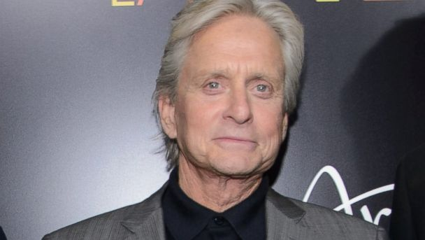 AP michael douglas tk 131022 16x9 608 Michael Douglas Very Hopeful on Future with Catherine Zeta Jones