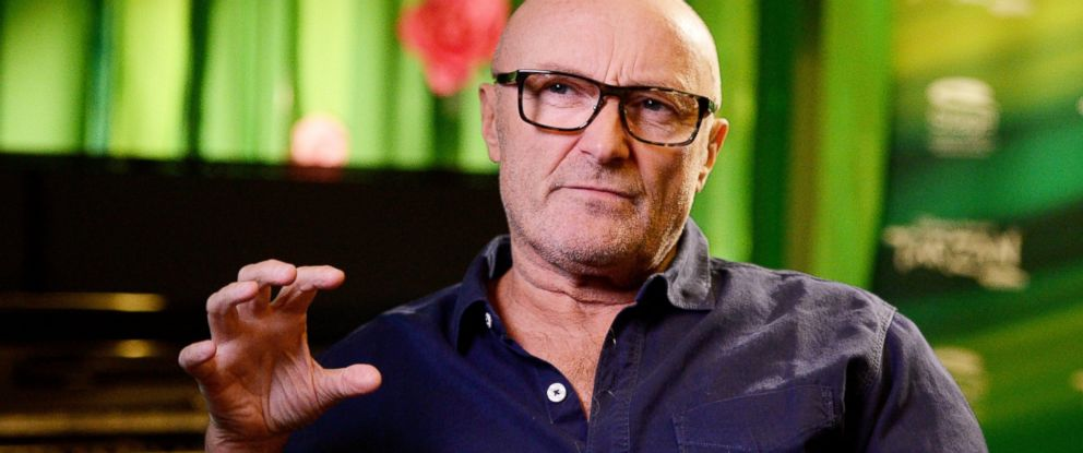 PHOTO: Phil Collins in Stuttgart, Germany, Nov. 21, 2013. As of Oct. 2015, he says that he is no longer retired.