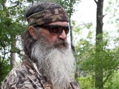 PHOTO: This photo taken May 15, 2013 shows Phil Robertson posing for a photograph at his home in western Ouachita Parish, La.
