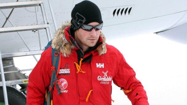 AP prince harry jef 131125 16x9 608 Prince Harry to Reach South Pole on Friday the 13th