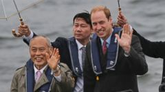 Prince William Hits Tokyo