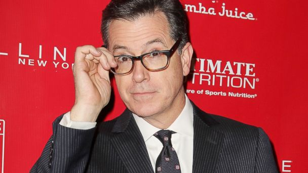 AP stephen colbert jt 140201 16x9 608 Stephen Colbert Reveals His Very Short Lived Football Career