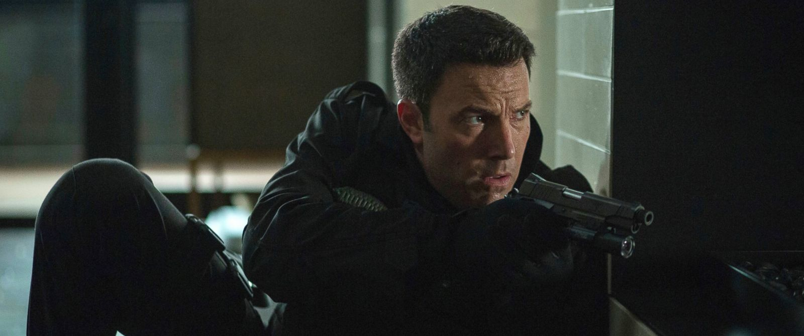"""PHOTO: Ben Affleck appears in a scene from """"The Accountant"""" in this image released by Warner Bros. Pictures."""