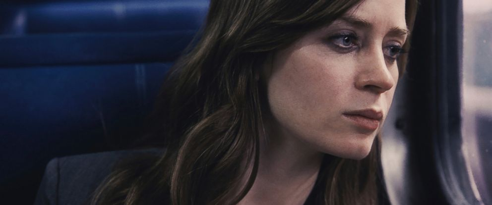 """PHOTO: Emily Blunt appears in a scene from """"The Girl on the Train"""" in this file image released by Universal Pictures."""
