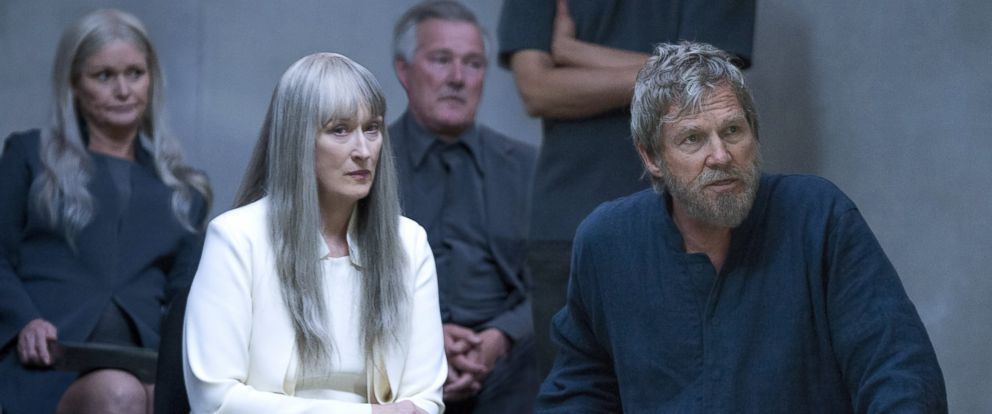 """PHOTO: Meryl Streep, left, and Jeff Bridges in a scene from """"The Giver."""""""