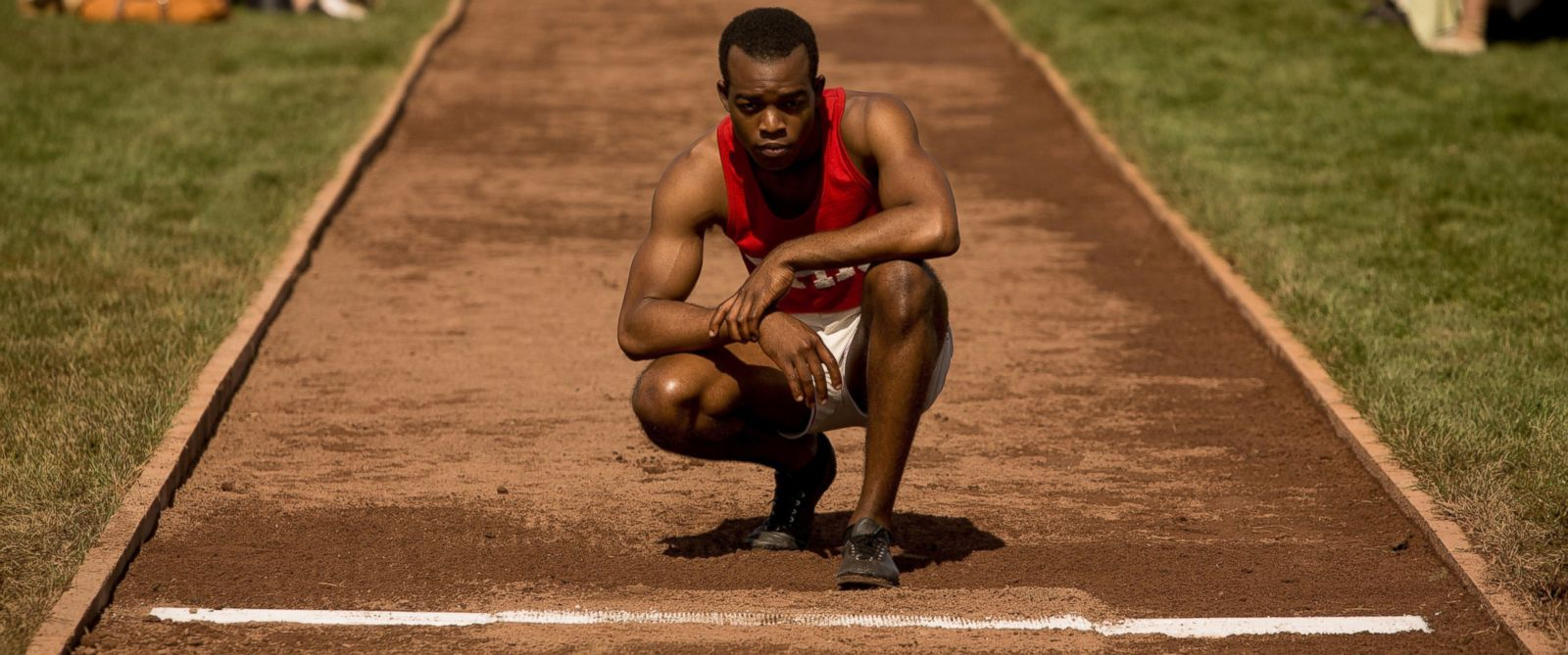 "PHOTO: Stephan James as Jesse Owens in ""Race."""