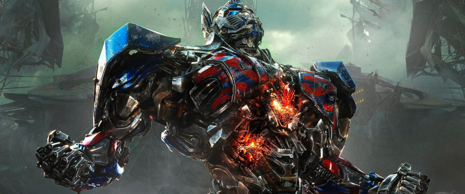 "PHOTO: Optimus Prime in the film, ""Transformers: Age of Extinction."""