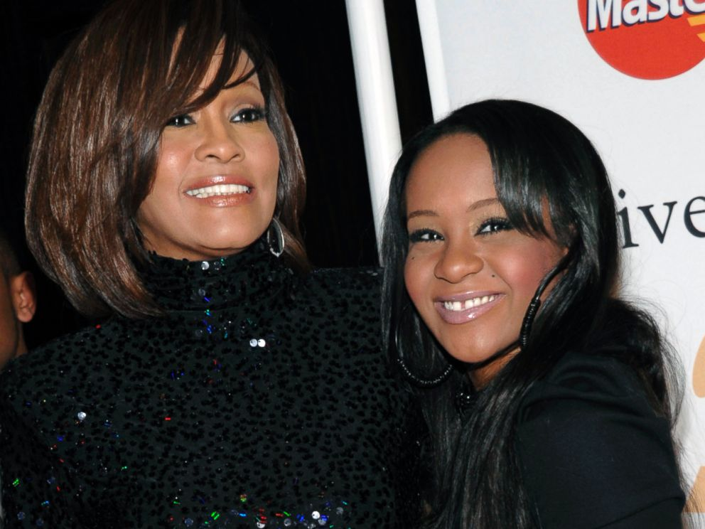 PHOTO: Singer Whitney Houston, left, and daughter Bobbi Kristina Brown arrive at an event in Beverly Hills, Calif., Feb. 12, 2011.