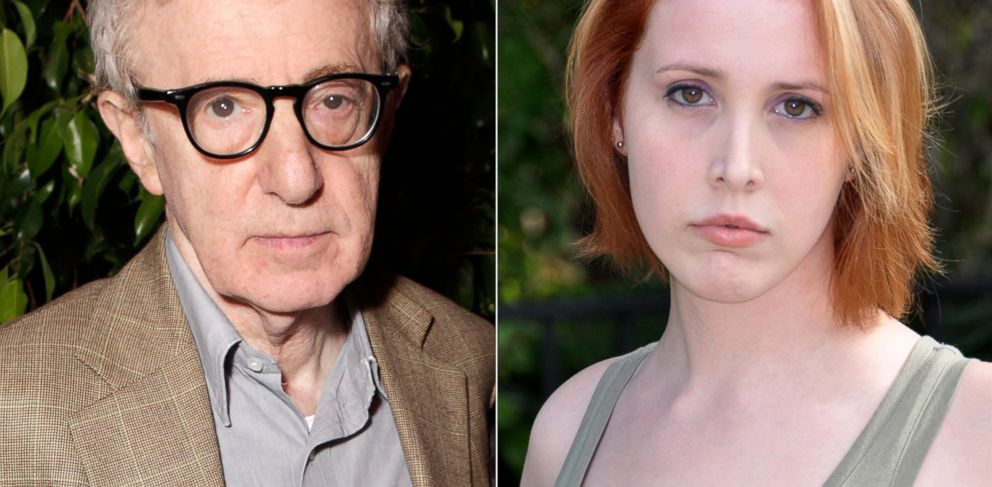 PHOTO: Woody Allen is shown is in this June 5, 2012 photo and right, Dylan Farrow, daughter of Woody Allen and Mia Farrow, is shown in undated image released by Frances Silver.