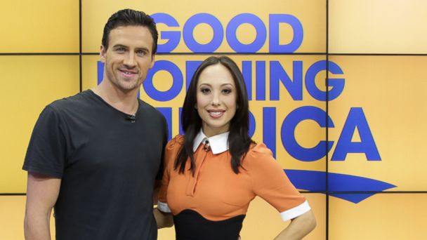 PHOTO: Cheryl Burke and Ryan Lochte appeared on