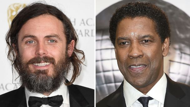 PHOTO: Casey Affleck, left, and Denzel Washington, right.