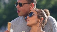 Jennifer Lopez and Alex Rodriguez spend time together in Paris