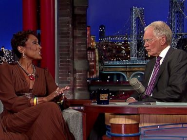 Robin Roberts Tells Letterman She's 'Healthier and Happier' Than Ever Before