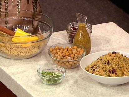 Daphne Oz's warrior salad is shown here.