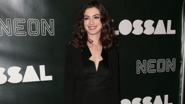 PHOTO: Anne Hathaway attends the Colossal Premiere held at Vista Theatre in Los Angeles, April 5, 2017.