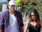 Mila Kunis and Ashton Kutcher Enjoy A Morning Stroll