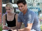 John Stamos Bonds With Emma Roberts On Set