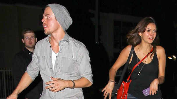 GSI derek hough nina dobrev nt 131008 16x9 608 Are Nina Dobrev and Derek Hough Dating?