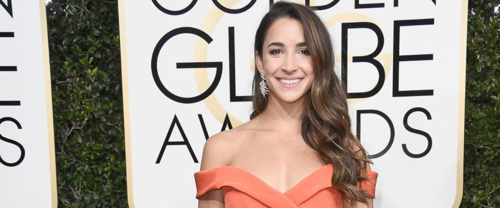 PHOTO: Gymnast Aly Raisman attends the 74th Annual Golden Globe Awards at The Beverly Hilton Hotel, on Jan. 8, 2017, in Beverly Hills, Calif.