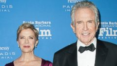Annette Bening and Warren Beatty Step Out in Santa Barbara