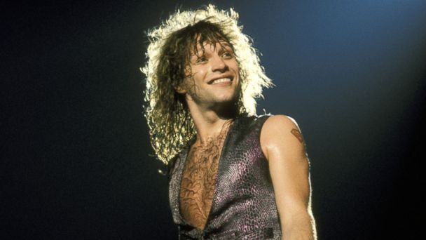 PHOTO: Bon Jovi in Concert at Madison Square Garden in New York City, August 1, 1987.