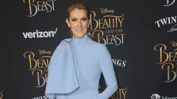 PHOTO: Singer Celine Dion arrives for the Premiere Of Disney's