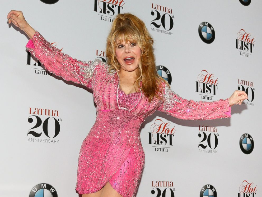 PHOTO: Charo arrives for Latina Magazines 20th Anniversary Event Celebrating Hollywood Hot List Honorees at STK Los Angeles, Nov. 2, 2016, in Los Angeles, Calif.