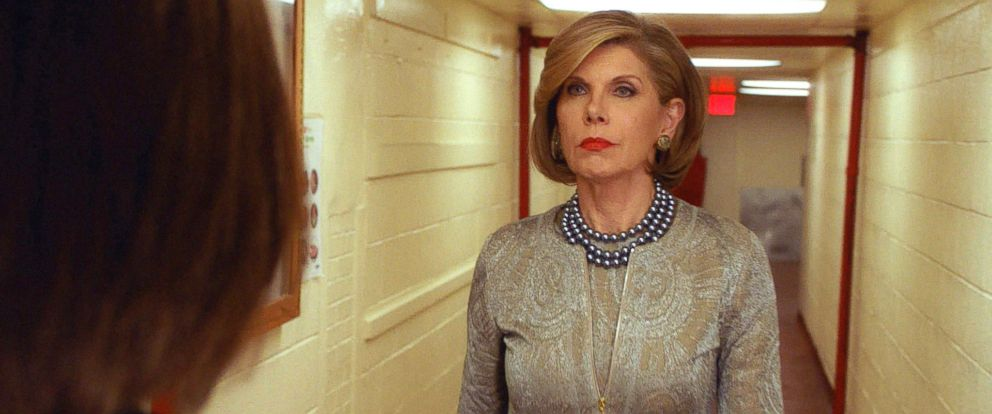 "PHOTO: Christine Baranski on ""The Good Wife,"" reaches its dramatic conclusion on the series finale, May 8, 2016, on the CBS Television Network."