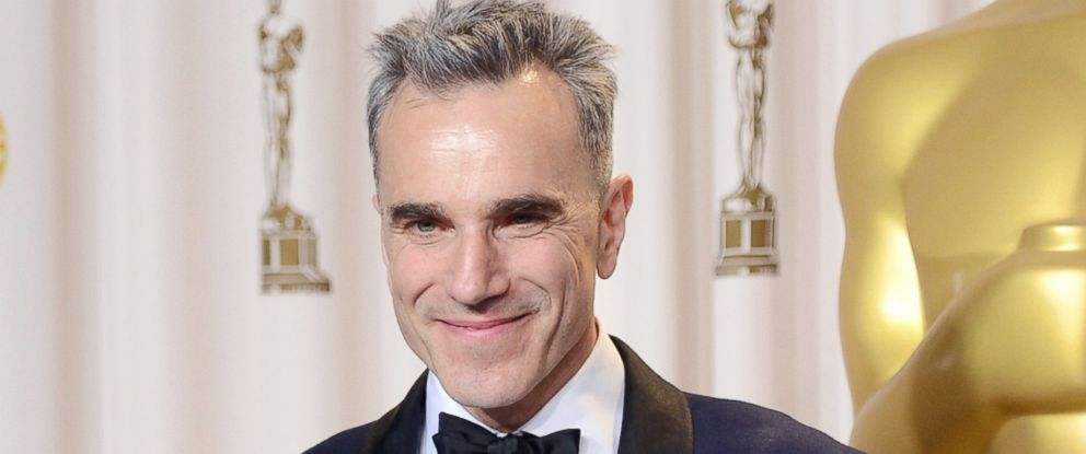 "PHOTO: Actor Daniel Day-Lewis, winner of the Best Actor award for ""Lincoln,"" poses in the press room during the Oscars held at Loews Hollywood Hotel in this Feb. 24, 2013 file photo in Hollywood, Calif."