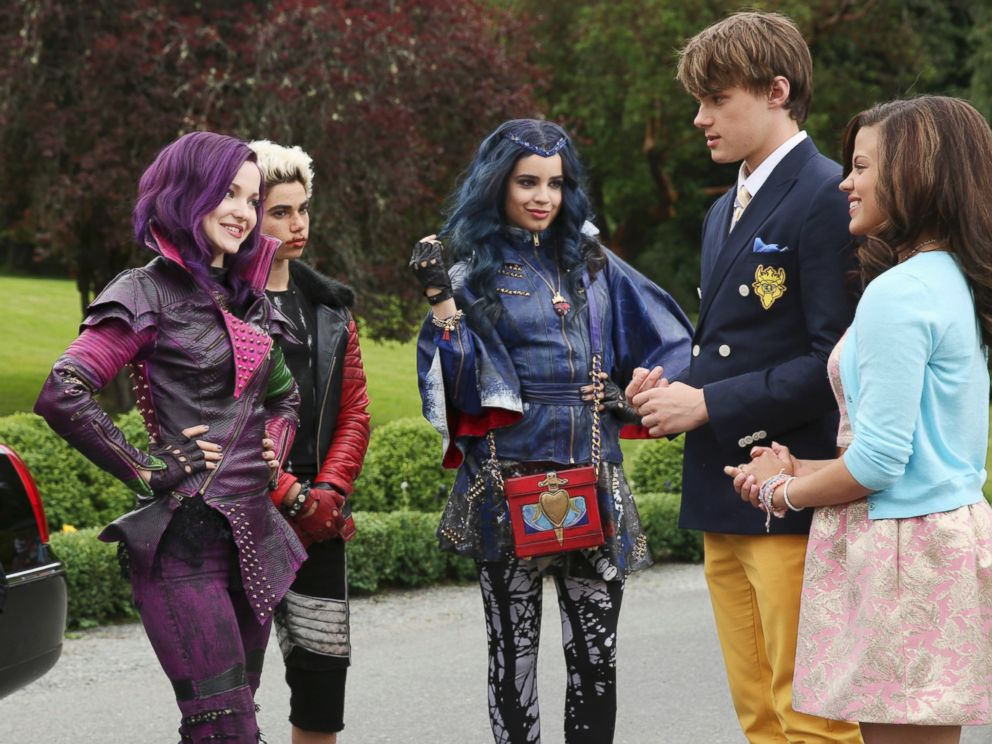 PHOTO: The teenage sons and daughters of Disneys most infamous villains star in Disneys Descendants, on June 23, 2014.