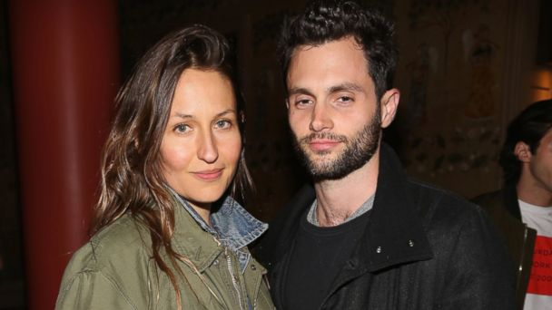 PHOTO: Domino Kirke and Penn Badgley attend The Weinstein Company and Lyft host a special screening of