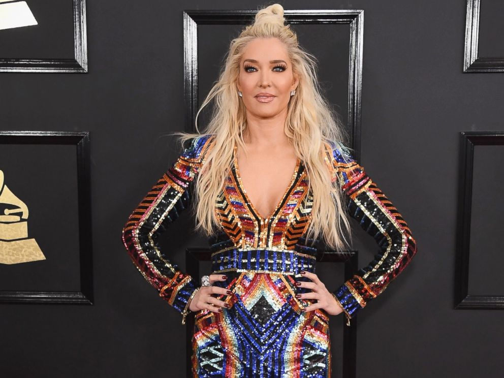 PHOTO: Erika Jayne arrives at the 59th GRAMMY Awards at the Staples Center, Feb. 12, 2017 in Los Angeles, Calif.