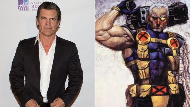 PHOTO: Josh Brolin, left, has been confirmed to play Cable in the