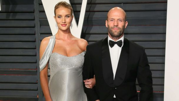 PHOTO: Rosie Huntington-Whiteley and Jason Statham attend the 2017 Vanity Fair Oscar Party at Wallis Annenberg Center for the Performing Arts, Feb. 26, 2017, in Beverly Hills, Calif.