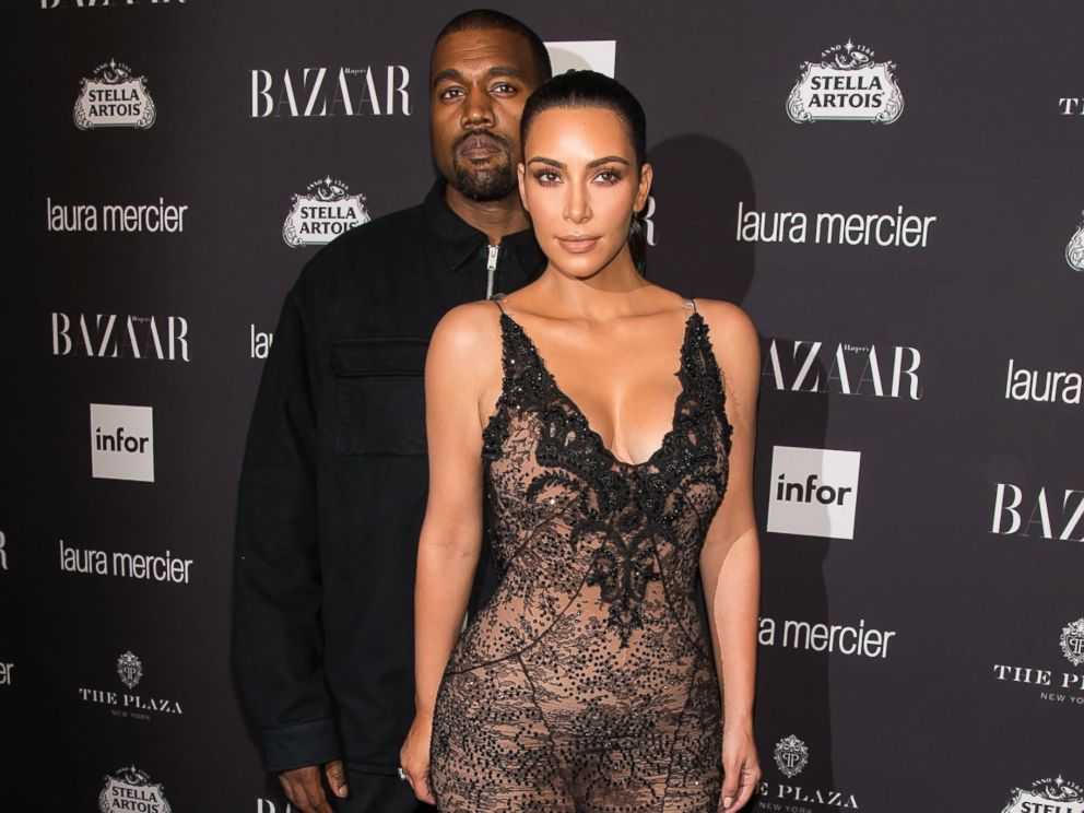 PHOTO: Kanye West and Kim Kardashian West attend Harpers BAZAAR Celebrates ICONS By Carine Roitfeld at The Plaza Hotel, on Sept. 9, 2016, in New York City.