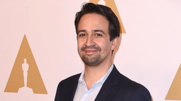 PHOTO: Composer Lin-Manuel Miranda attends the 89th Annual Academy Awards Nominee Luncheon at The Beverly Hilton Hotel, on Feb. 6, 2017, in Beverly Hills, California.