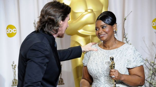 PHOTO: Actress Octavia Spencer accepts the Best Supporting Actress Award for