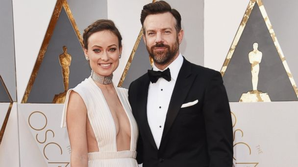 PHOTO: Olivia Wilde and Jason Sudeikis attend the 88th Annual Academy Awards at Hollywood & Highland Center, Feb. 28, 2016, in Hollywood.