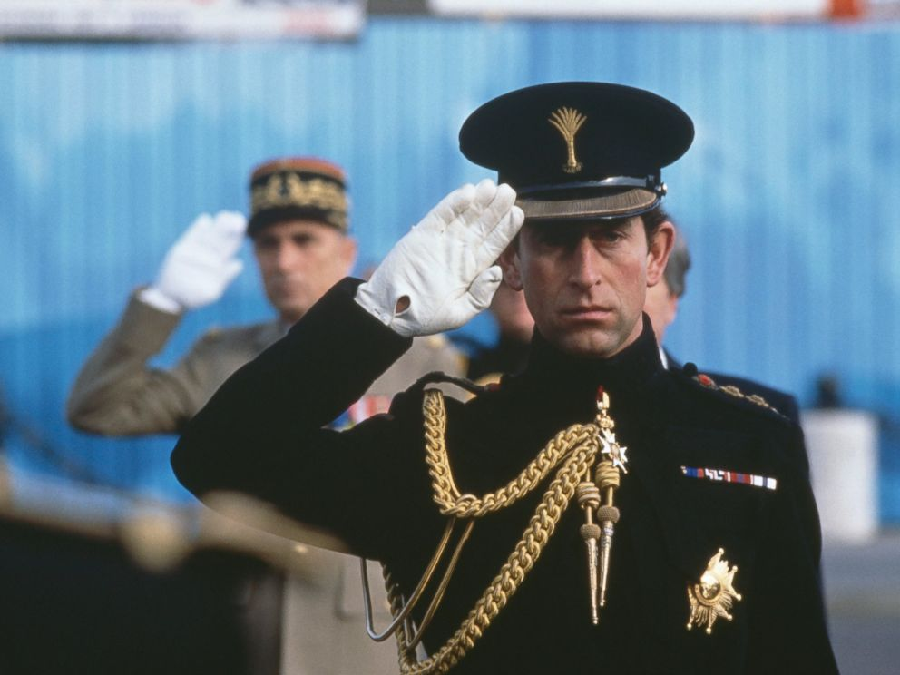 PHOTO: Prince Charles visits Paris to help commemmorate the anniversary of the end of World War I, on Nov. 11, 1988.