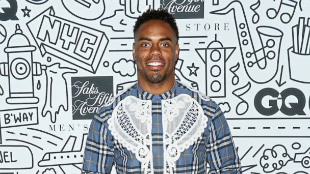 PHOTO: Football running back Rashad Jennings attends the Saks Downtown Men's opening at Saks Downtown Men's, Feb. 22, 2017, in New York.