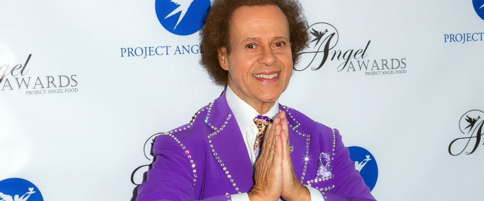 PHOTO: TV personality Richard Simmons arrives at Project Angel Foods Annual Angel Awards 2013 honoring Jane Lynch at Project Angel Food, on Aug. 10, 2013, in Los Angeles.