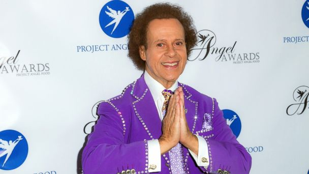 PHOTO: TV personality Richard Simmons arrives at Project Angel Food's Annual Angel Awards 2013 honoring Jane Lynch at Project Angel Food, on August 10, 2013, in Los Angeles.