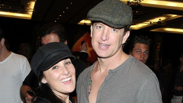 PHOTO: Actress Ricki Lake (L) and husband Christian Evans at Atlantis Paradise Island, Jan. 13, 2011, in Nassau, Bahamas.