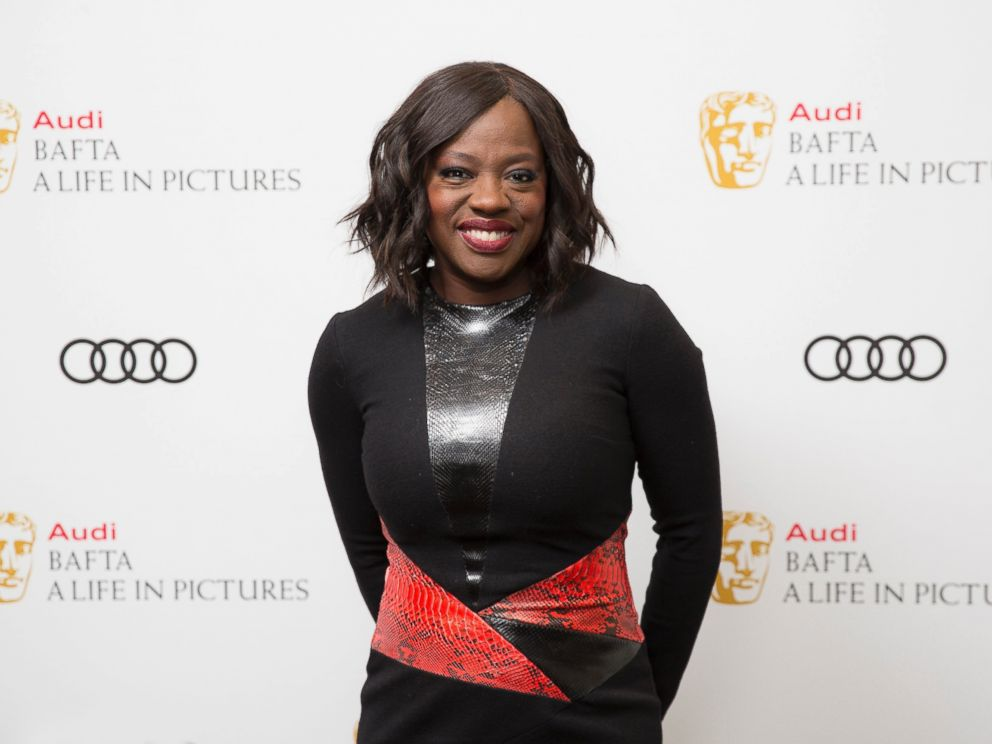 PHOTO: Actress Viola Davis poses for photographers upon arrival at a BAFTA Life in Pictures photo call, at BAFTA headquarters in London, Jan. 15, 2017.